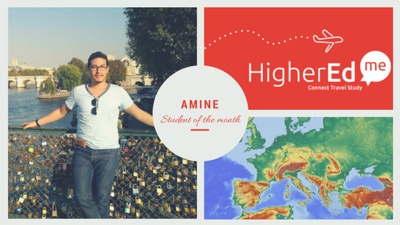 Discover Amine, a student registered on our platform
