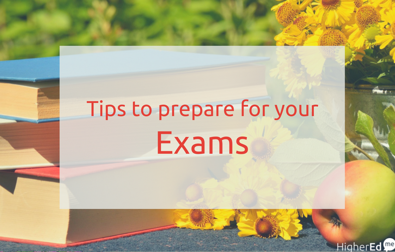 Study tips to prepare for your exam