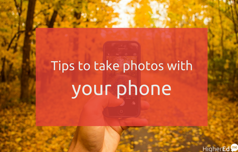 How to take good photos with your mobile phone
