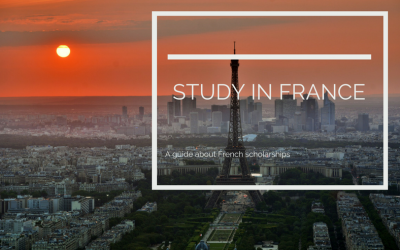 What are the French scholarships available for international students