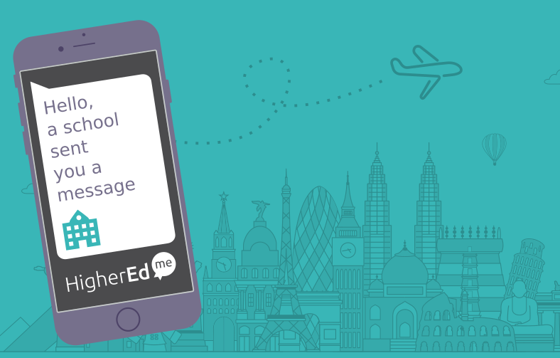 New! Receive SMS when a shcool send you messages to boost your study abroad project