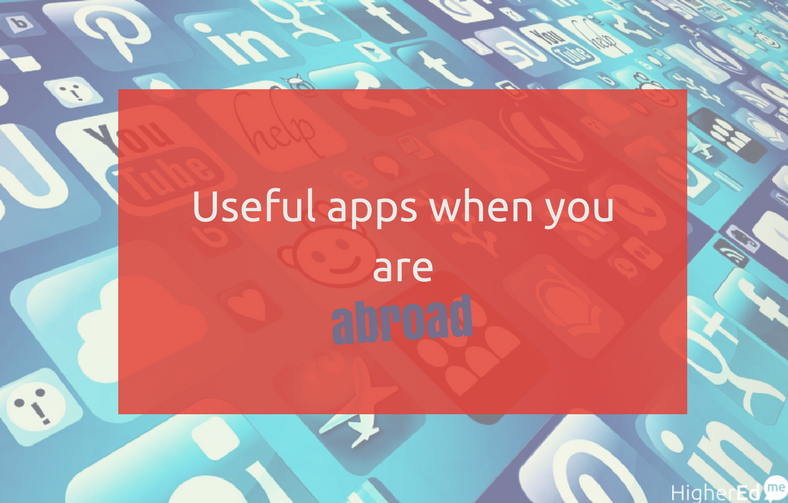 Useful apps to follow you everywhere you go during your abroad studies
