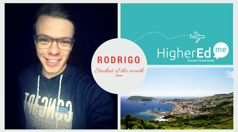 Student of the month: Discover Rodrigo from Portugal