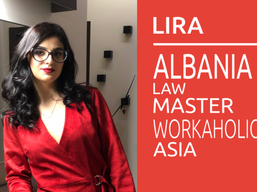 Study Law abroad: Interview with Lira Spiro From Albania