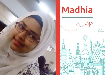 Study Robotics in Canada: Mahdia from Bangladesh