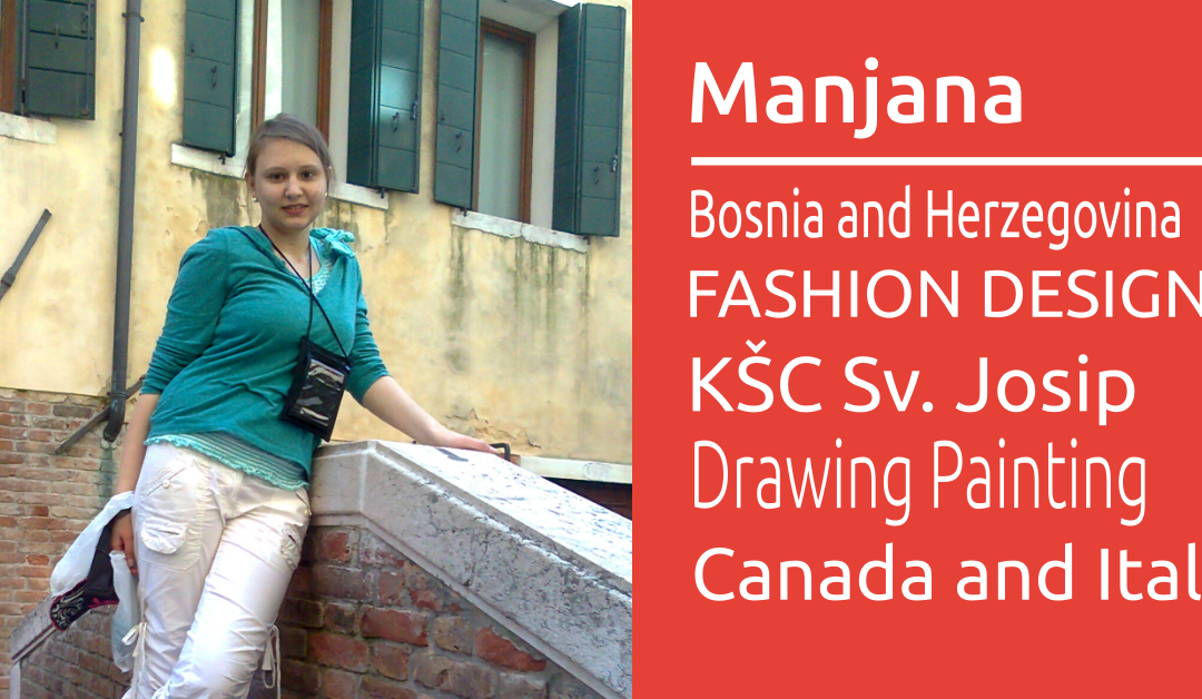 Manjana wishes to study Fashion Design in Canada