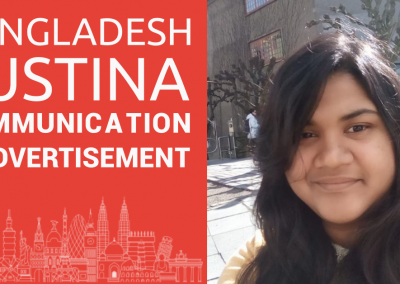 Study abroad interview with Justina from Bangladesh
