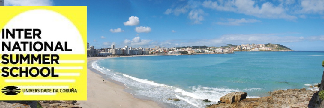 International Summer School in Spain at UDC Landscape view of a beach in the city of A Coruña