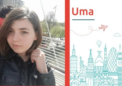 Study abroad interview with Uma