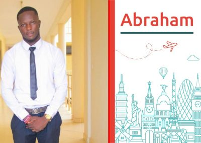 Study abroad interview with Abraham, from Ghana