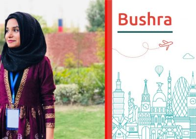 Study abroad interview with Bushra from Pakistan