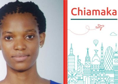 Chiamaka study abroad interview on HigherEdMe