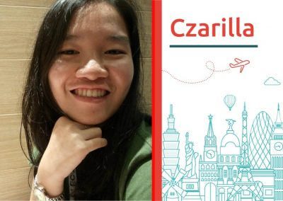 Study abroad interview with Czarila from the Philippines