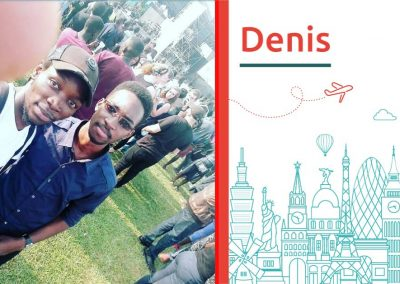 Study abroad interview with Denis Abraham, from Uganda