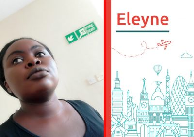 Eleyne, study abroad interview from Kenya