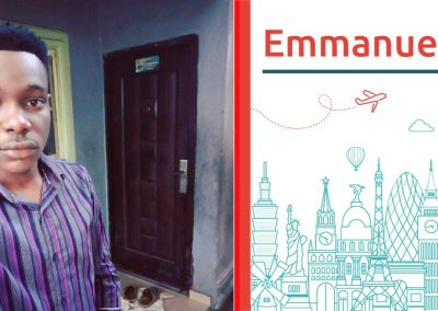 Emmanuel study abroad interview from Nigeria
