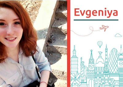 Study abroad interview with Evgeniya From Ukraine