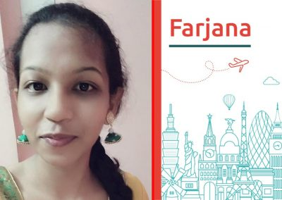 "Discover about ""Farjana"""