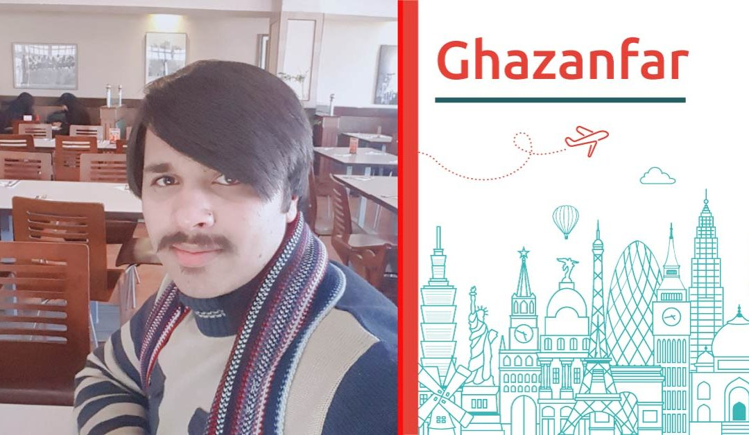 Study abroad interview with Ghazanfar from Pakistan