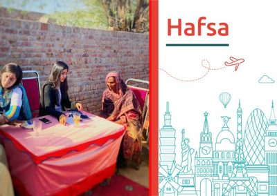 "Discover about ""Hafsa"""