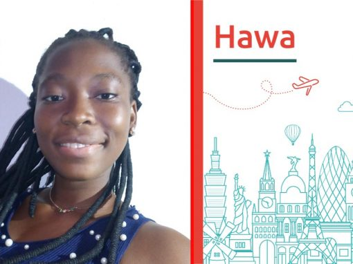 Study abroad intverview of Hawa on HigherEdMe