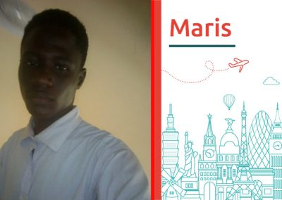 Meet Maris, future engineer. Read his study abroad interview
