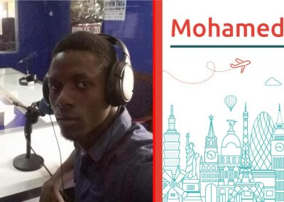 Mohamed study abroad interview