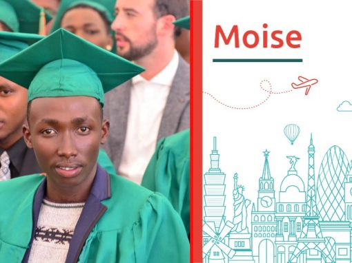 Moise study abroad interview from Rwanda