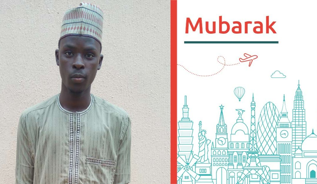Study abroad interview with Mubarak from Nigeria