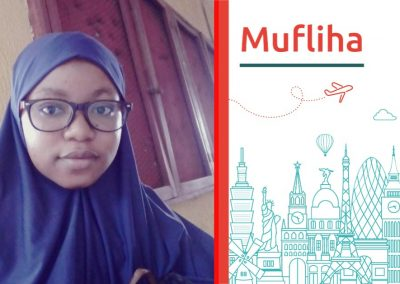 Study abroad interview with Mufliha from Nigeria