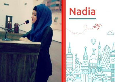 Study abroad interview with Nadia from Pakistan