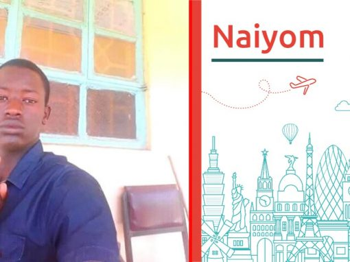 Meet Naiyoma, and discover his study abroad wishe