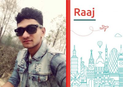 Study abroad interview with Raaj Kumar from Nepal