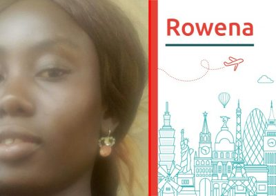 Discover the study abroad project of Rowena
