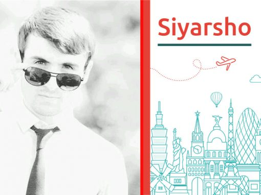 Discover Siyarsho and his study abroad wish to Europe