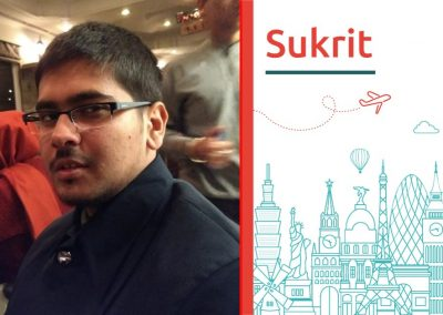 "Discover about ""Sukrit Kashyap"""