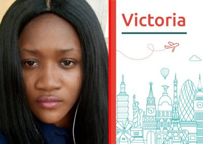 Study abroad interview with Victoria from Nigeria