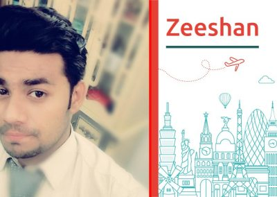 "Discover about ""Zeeshan Ahmad"""
