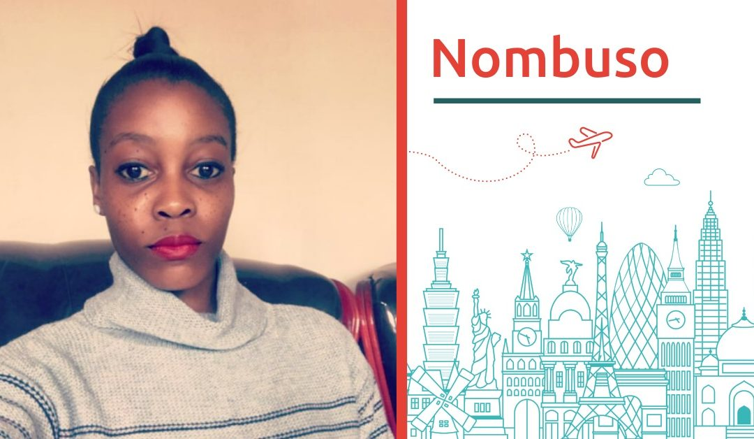From South Africa to Europe. Meet Nombuso