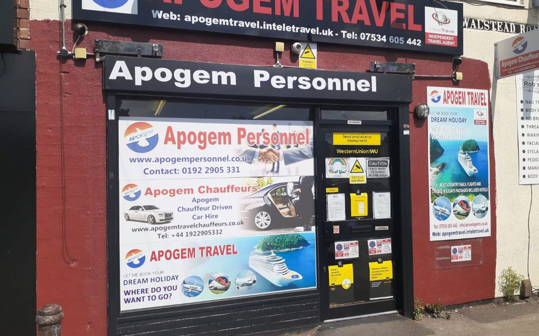 Meet new agent – Apogem travel agency